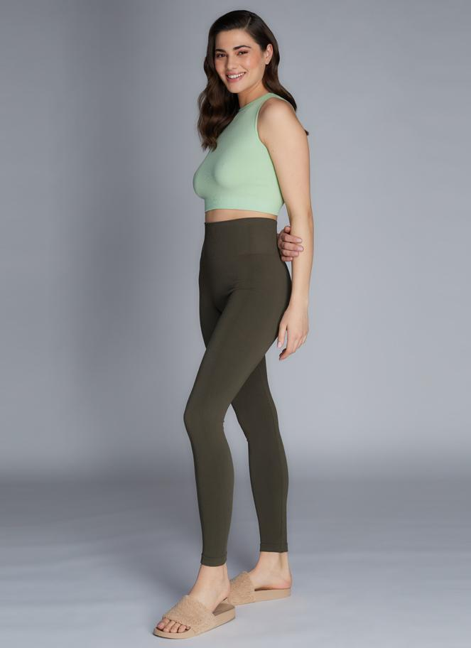 Rib High Waisted Legging
