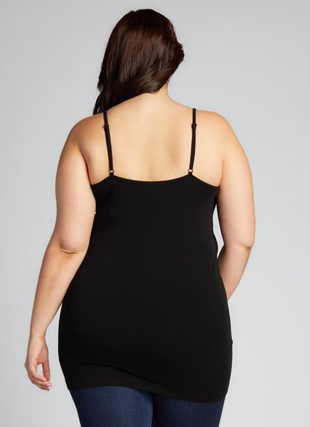 Plus Size CROSS FRONT CAMI