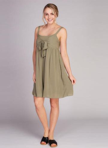 Knotted Front Dress