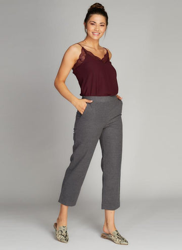 Brushed Tapered Pants