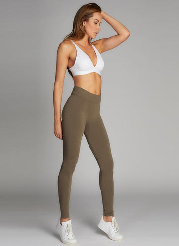 Bamboo Heather Legging