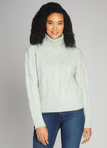 Cable Front TN Sweater