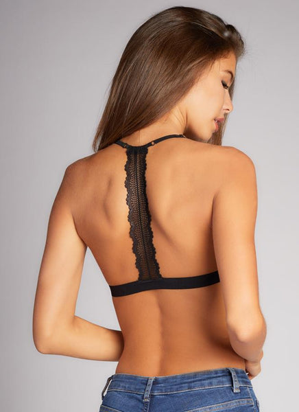 Lace Bralette W/ Back Detail
