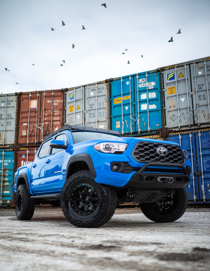 KR7 Build-2020 Toyota Tacoma TRD Offroad Auto DCSB Voodoo Blue
