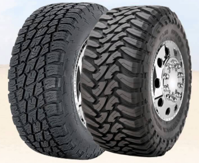 All Terrain or Mud Terrain tire treads, what is right for you?