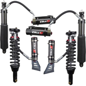 "2005-Present Tacoma Elka 2.5 Adjustable Reservoir Complete Kit 0""-2"" Front Lift With Rear Springs"