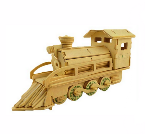 Locomotive puzzle 3D en kit