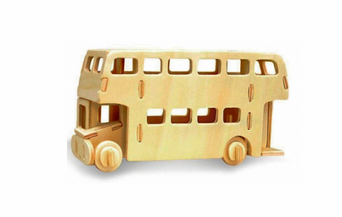 London bus puzzle 3D en kit