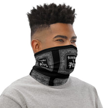 Remember To Pray Neck Gaiter - Black Paisley