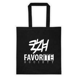 Favorite Society Black Tote Bag
