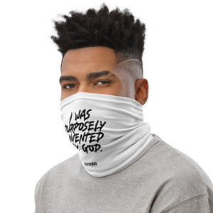 Purposely Invented Neck Gaiter - White