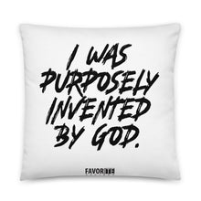 Purposely Invented Pillow - White