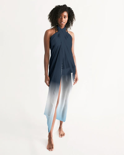 Obsidian Blue Swim Cover Up - UNIDENTIFLY
