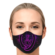 ( Purple hive ) Face Mask