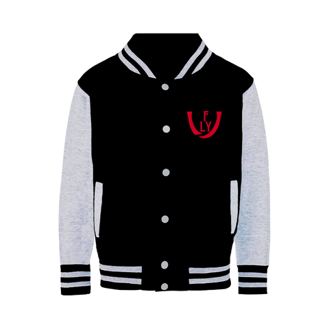 logoRED Varsity Jacket - UNIDENTIFLY