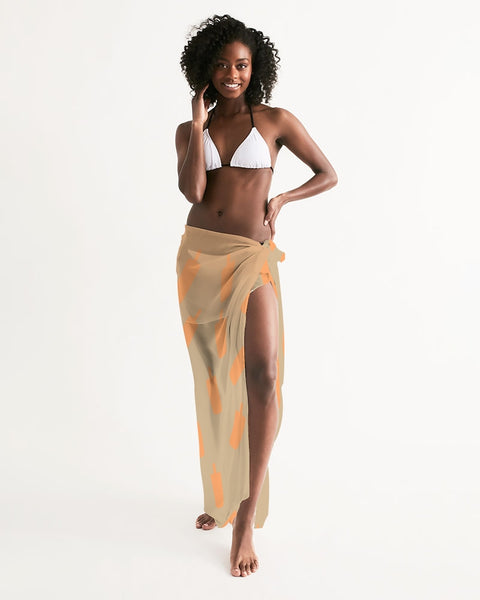 Creamsicle Swim Cover Up - UNIDENTIFLY