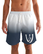 Obsidian Blue Men's Swim Trunk - UNIDENTIFLY