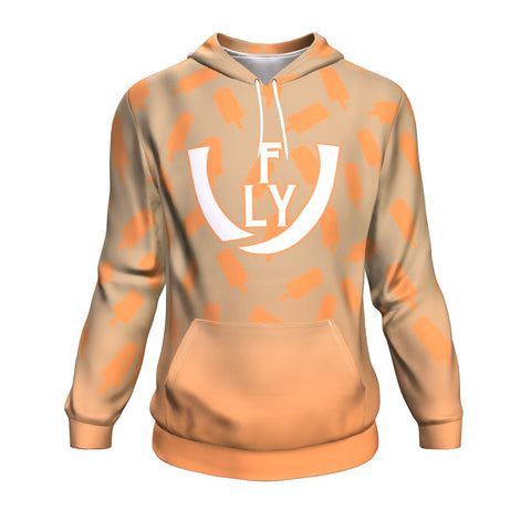 Creamsicle Performance Hoodie - UNIDENTIFLY