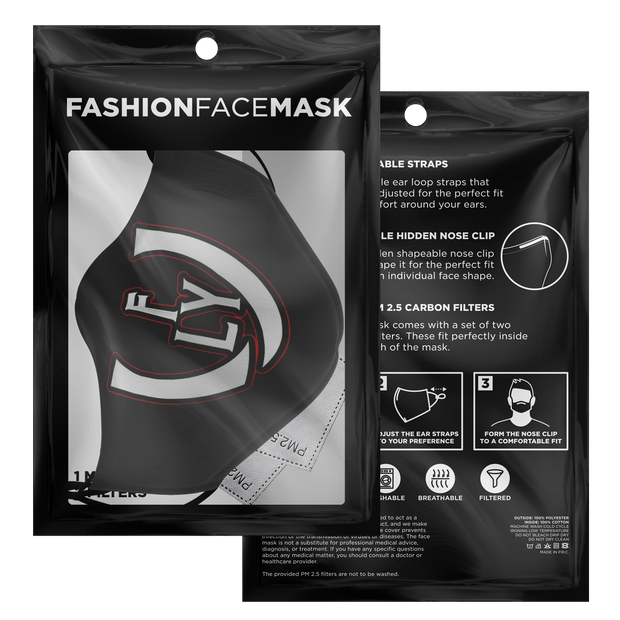 Bred Stealth Face Mask - UNIDENTIFLY