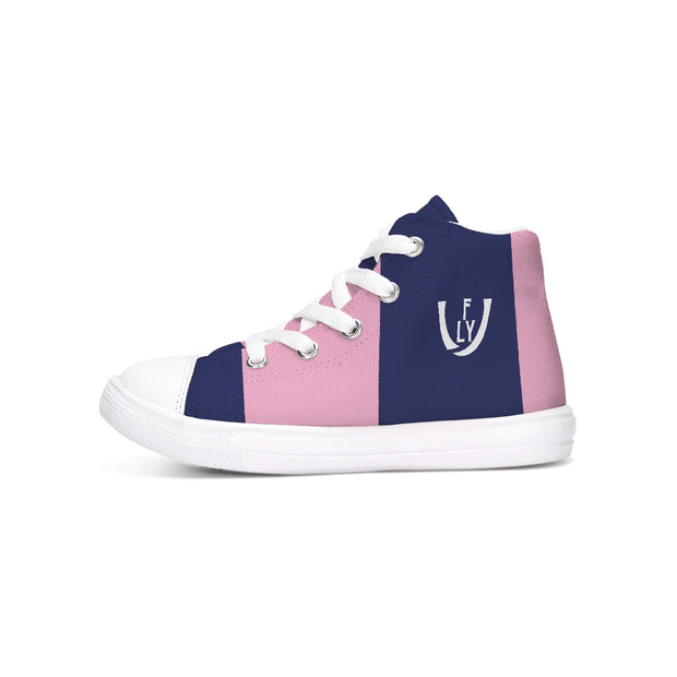 Heart & Mind Kids Hightop Canvas Shoe - UNIDENTIFLY