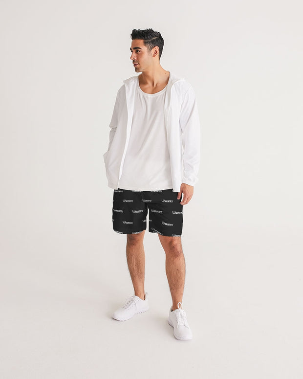 Statement Men's Jogger Shorts - UNIDENTIFLY