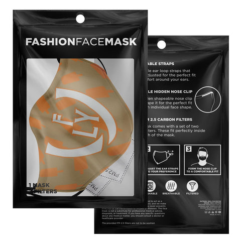 Creamcicle Face Mask - UNIDENTIFLY
