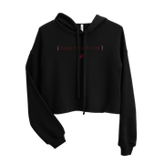 ( Dont Talk to Me ) Crop Hoodie - UNIDENTIFLY
