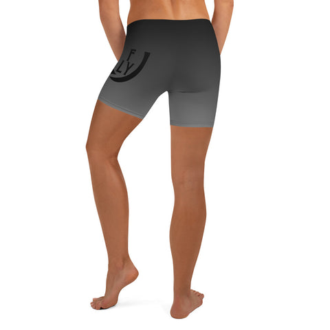 Fade to Black Shorts Women - UNIDENTIFLY
