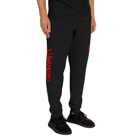 logoRED Joggers - UNIDENTIFLY