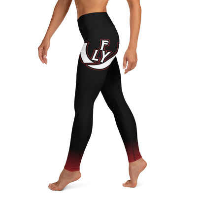 Bred High Leggings - UNIDENTIFLY