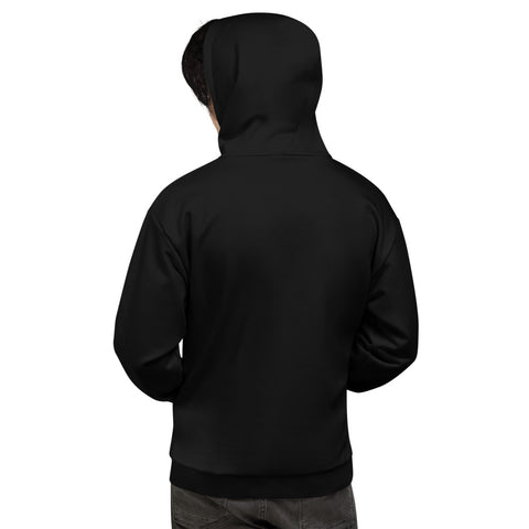 Black ( On-Black ) Hoodie - UNIDENTIFLY