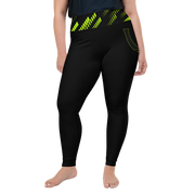 ( Neon ) Plus Size High Leggings