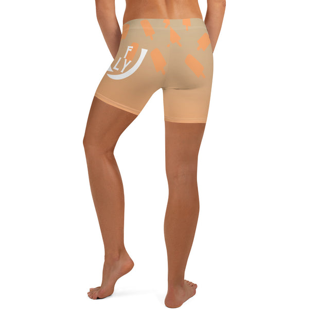 Creamsicle Shorts Women - UNIDENTIFLY