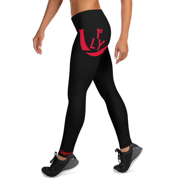 Imperial Red Leggings - UNIDENTIFLY