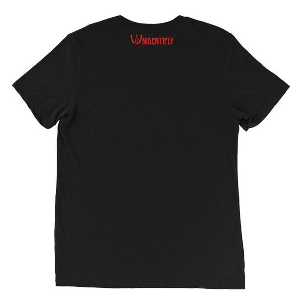 Black Red Statement t-shirt - UNIDENTIFLY