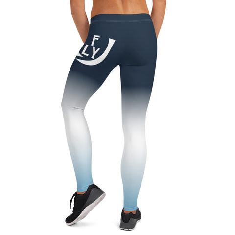 Obsidian Blue Leggings - UNIDENTIFLY