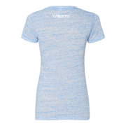 Statement Deep V-Neck Jersey Tee - UNIDENTIFLY