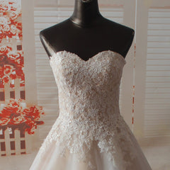 A-line Bridal Gown Sweetheart Neckline Wedding Dresses
