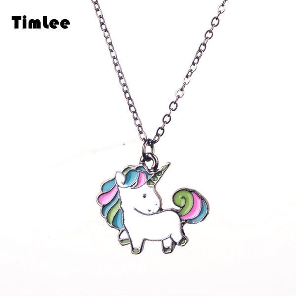 Live. Love. Unicorn. Our Favorite Unicorn Necklace!