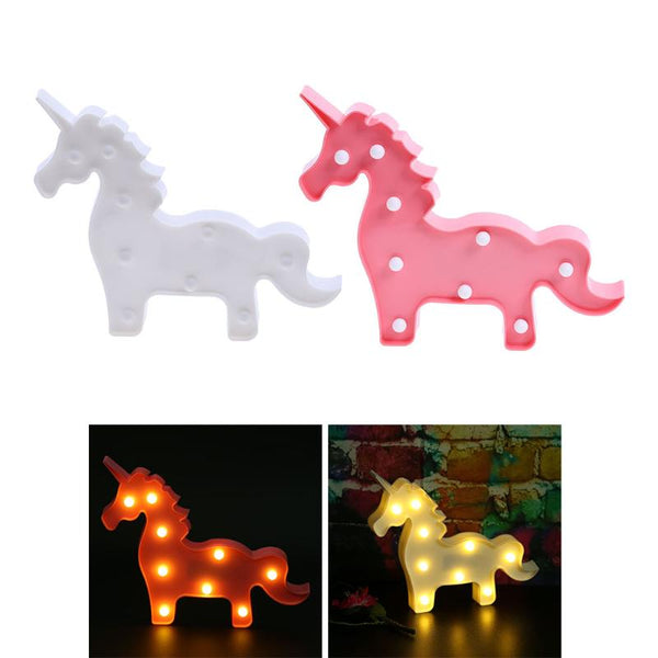Cute LED Unicorn Night Light