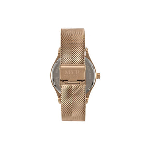 Signature Rose Gold Chain Watch