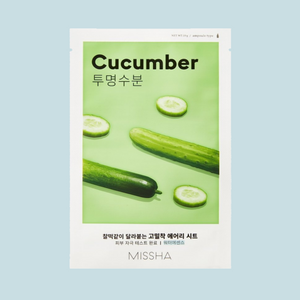 Airy Fit Cucumber Sheet Mask