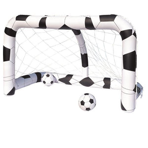 BESTWAY But de football gonflable + ballon - 36 cm de diametre