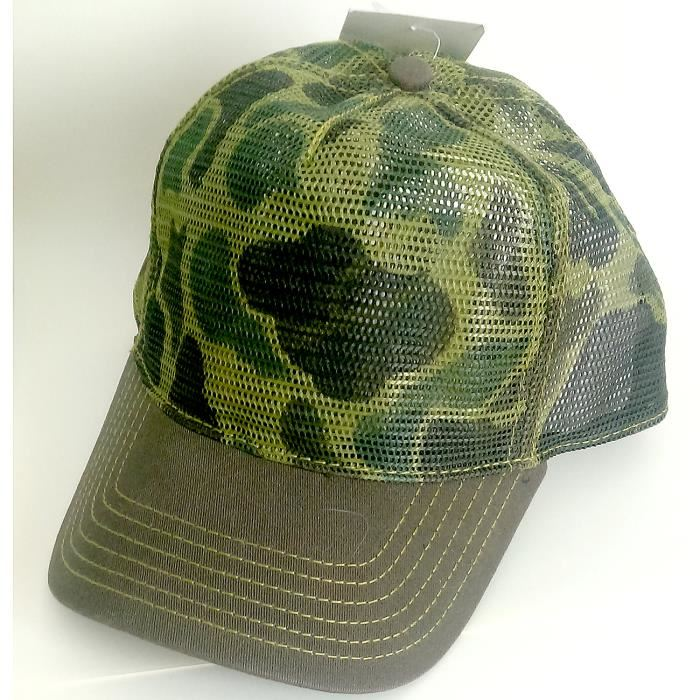 Casquette filet camouflage Atlantis