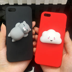 Coque de protection Iphone Chat silicone - nooteo