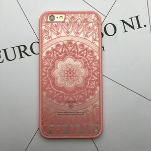 Coque protection téléphone Mandala iPhone - nooteo