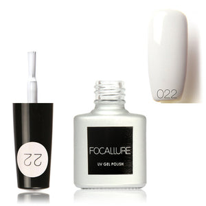 Vernis a ongle blanc Longue Durée Gel UV - nooteo