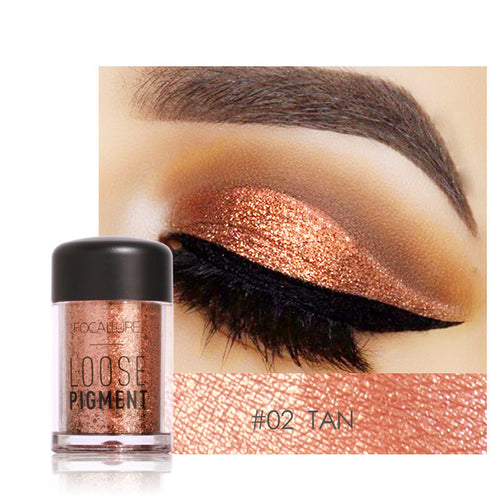 Ombre à paupière Glitter Tan Cosmetic maquillage - nooteo