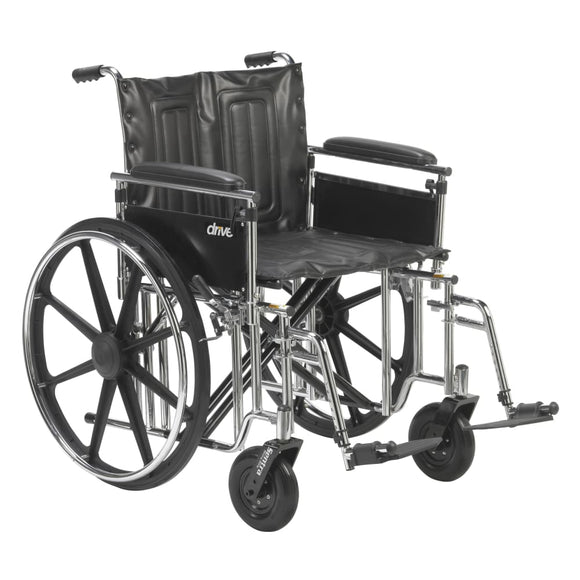 Bariatric Wheelchair 22 Wide W/det Full Adj Ht Arms & Elr - Wheelchair - Accessories/parts