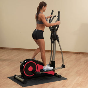Best Fitness Cross Trainer Elliptical W/floor Mat - Elliptical